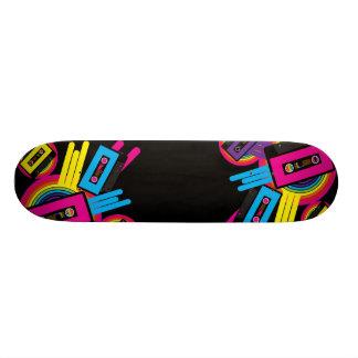Retro Party Design Skate Board