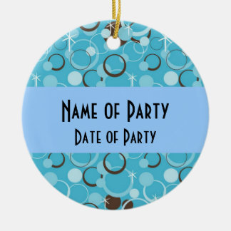 Retro Party Favor Ornament