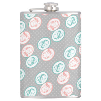 Retro Party Line Call Telephone Men and Women Hip Flask