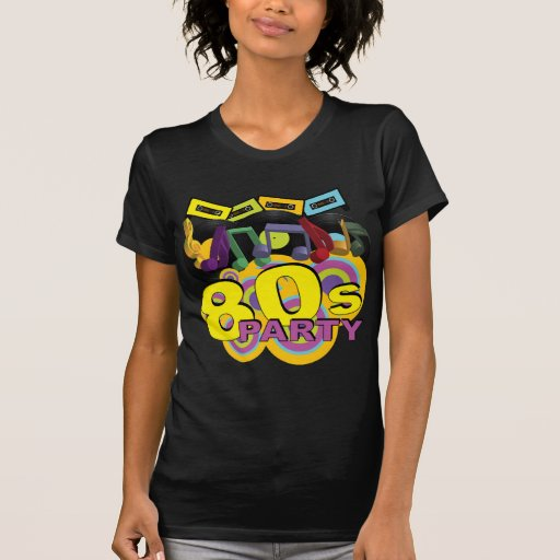 Retro Party T Shirts