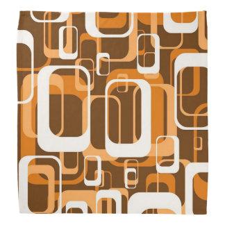 retro pattern 1971 orange head kerchief