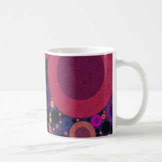 Retro Pattern Abstract Circles Mugs