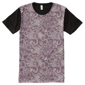 Retro pattern All-Over print T-Shirt