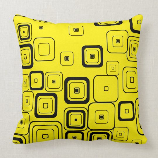 Retro Pattern Cushion