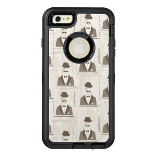 Retro pattern for man OtterBox iPhone 6/6s plus case