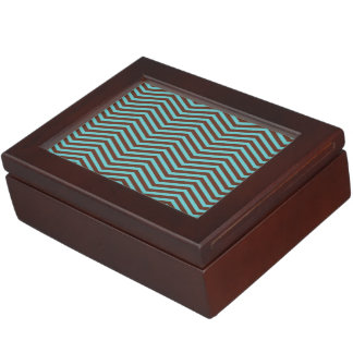 Retro pattern Keepsake Box