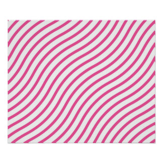Retro Pattern Luxurious Sleek Poster