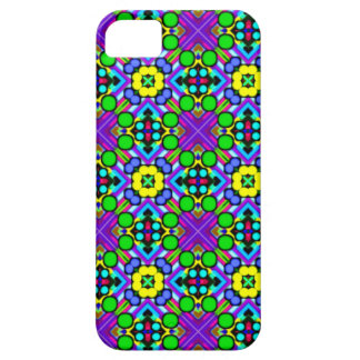 retro pattern original funky floral colorful case