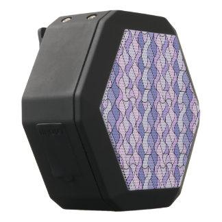 retro pattern OWEN blue.jpg Black Boombot Rex Bluetooth Speaker