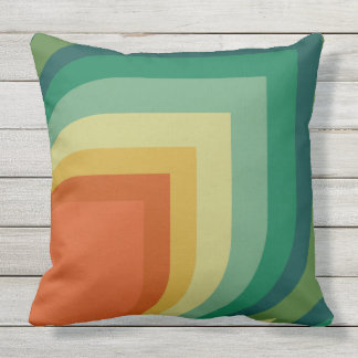 Retro Pattern Pillow