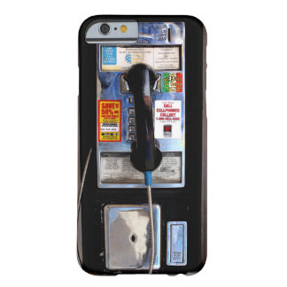 Retro Payphone iPhone 6 case Barely There iPhone 6 Case