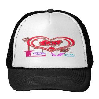 Retro Peace & Love Cap