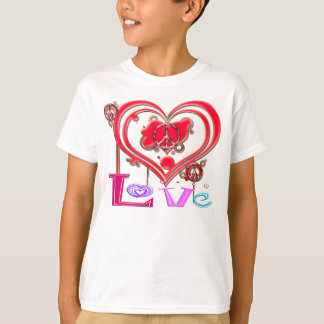 Retro Peace & Love T-Shirt