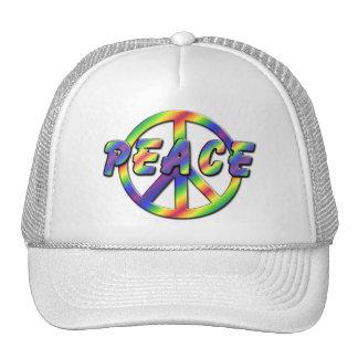 Retro Peace Sign Cap