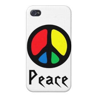 Retro Peace Sign iPhone 4 Cases