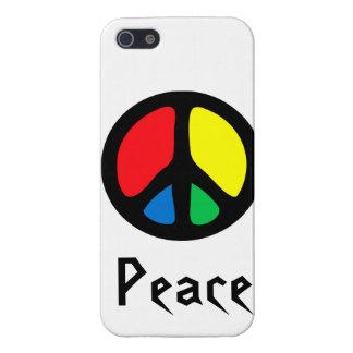 Retro Peace Sign iPhone 5/5S Cases