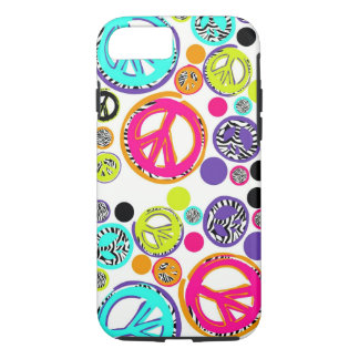Retro Peace Sign iPhone 7 Case