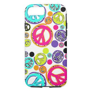 Retro Peace Sign iPhone 7 Case