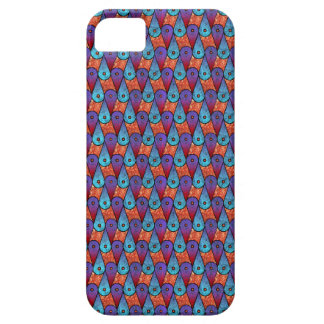 Retro Peacock Feathers iPhone 5 Covers
