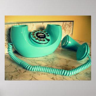retro phone 2 poster