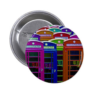Retro Phone Boxes Buttons