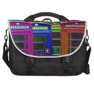 Retro Phone Boxes Laptop Bag