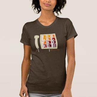 Retro Phone - Brown T T-shirt