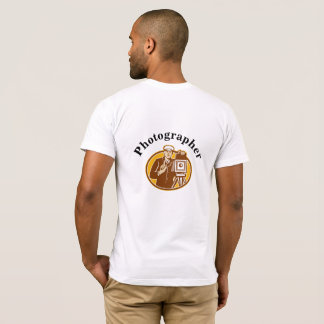 Retro Photographer (Back) T-Shirt