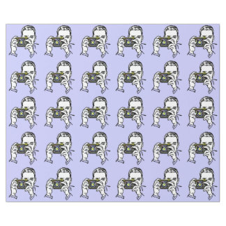 RETRO PHOTOGRAPHER ILLUSTRATION PATTERN WRAPPING PAPER