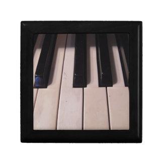 Retro Piano Keys Jewelry Box