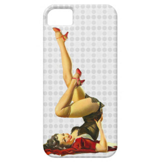 Retro Pin Up Girl iPhone 5 Cover
