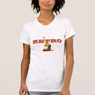 Retro Pin Up Girl T-Shirt
