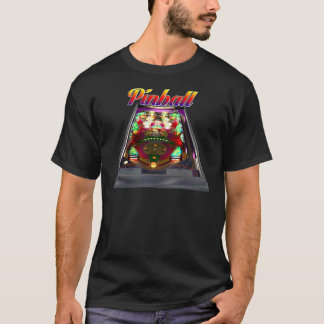 Retro Pinball Design T-Shirt
