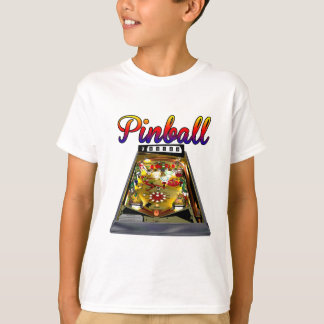 Retro Pinball Machine Design T-Shirt