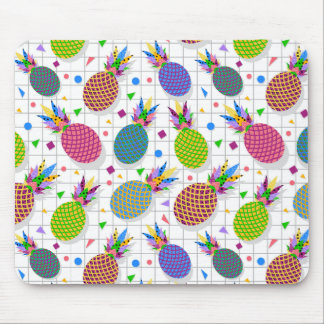 Retro Pineapple Pattern Mouse Pad