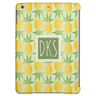 Retro Pineapples | Monogram