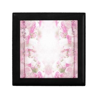 Retro pink gift box