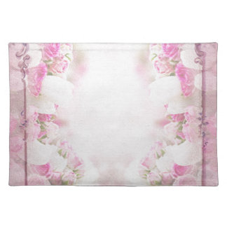 Retro pink placemat