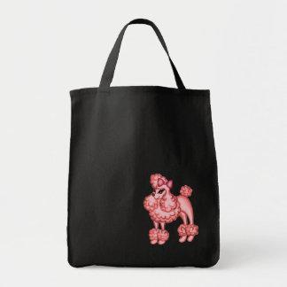 Retro Pink Poodle Bag