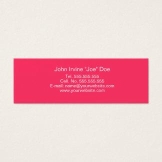 Retro Pink Profile Card