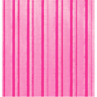Retro Pink Stripe Acrylic Cut Out