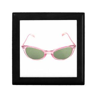 Retro Pink Sunglasses Small Square Gift Box