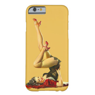 Retro Pinup Girl Barely There iPhone 6 Case