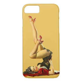 Retro Pinup Girl iPhone 8/7 Case