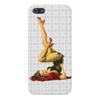 Retro Pinup Girl iPhone 5 Case