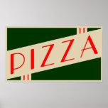 retro pizza