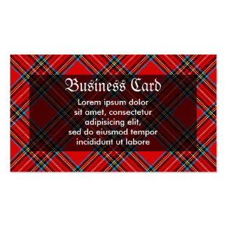 Retro Plaid Pack Of Standard Business Cards