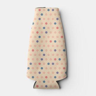 Retro Polka Dot Bottle Cooler