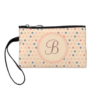 Retro Polka Dot Coin Purse