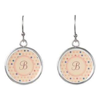 Retro Polka Dot Earrings